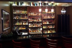 Tapped's Whiskey Lounge Bar with Plenty of Selection